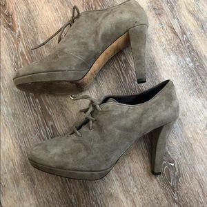 Kate Spade Karmela Platform Suede Ankle Boots Sz 7